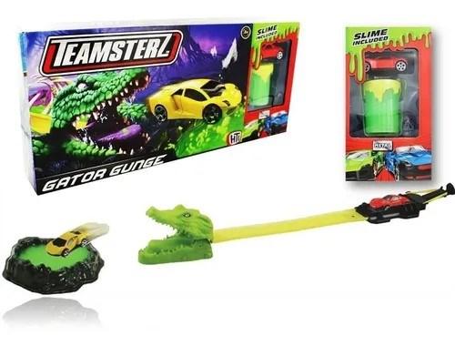 Set Pista + Auto + Slime Gator Gunge Teamsterz alt
