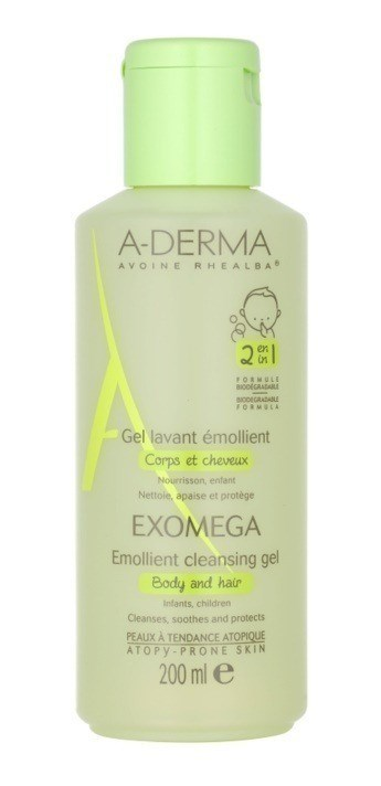 A-derma  Exomega Gel 2 En 1 200ml