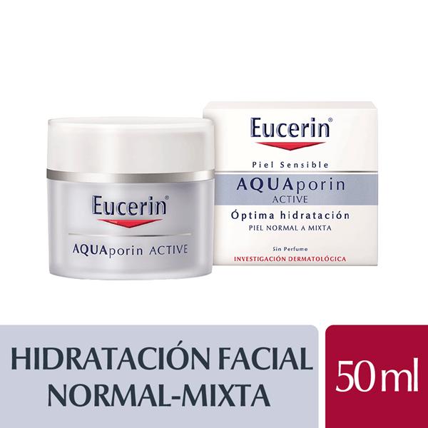 Eucerin Crema Facial x 50ml Piel Sensible Aquaporin Pnm