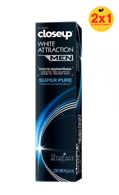 Closeup White Attraction Men Super Pure 90gr 2x1