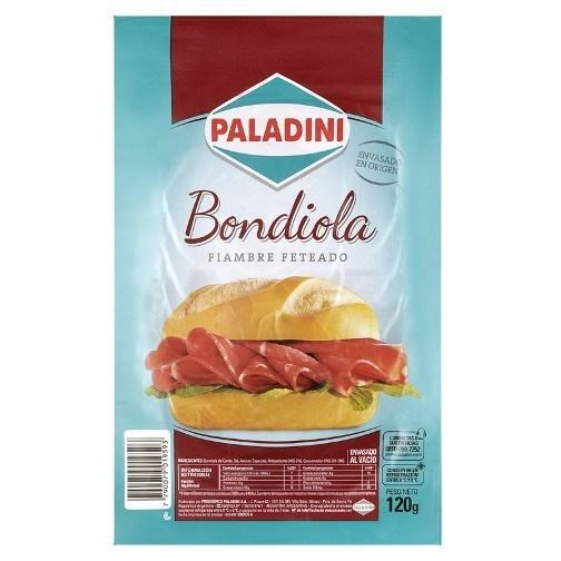 FETETEADO PALADINI BONDIOLA x 120 GRS