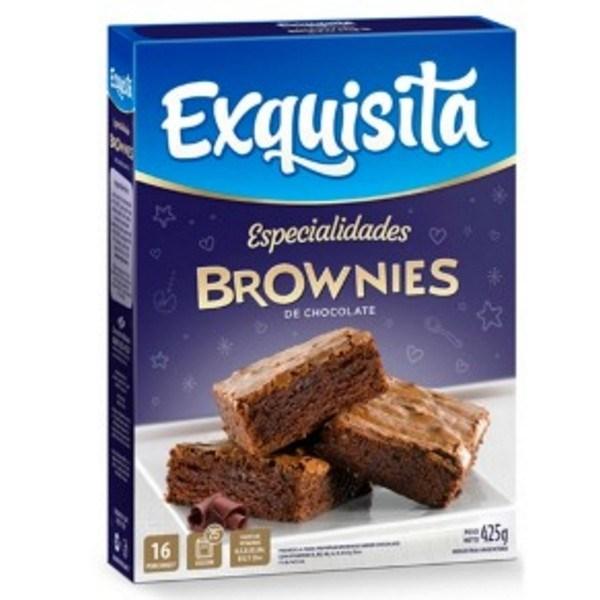 EXQUISITA ESP.BROWNIES DE CHOCOLATE x 425 GRS