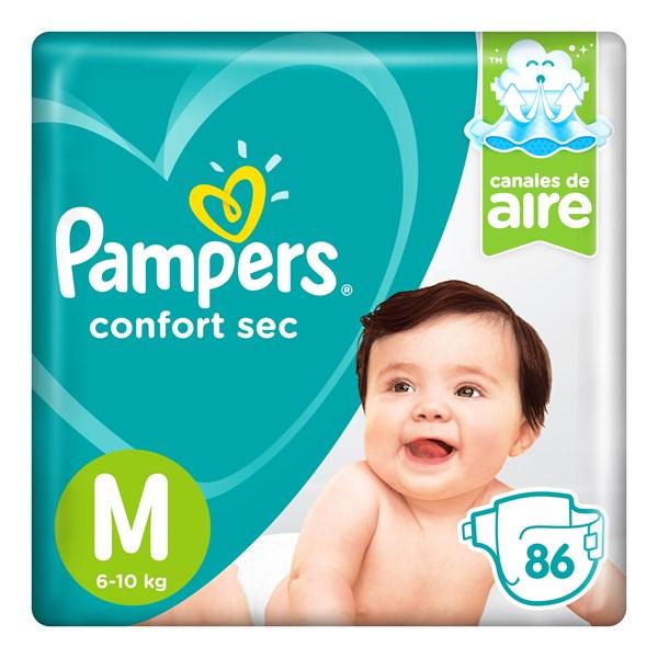Pampers Confort Sec M X 86