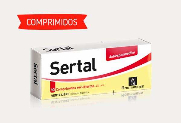 Sertal 10 Antiespasmódico Comprimidos