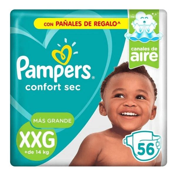 Pampers Confort Sec XXG X 56