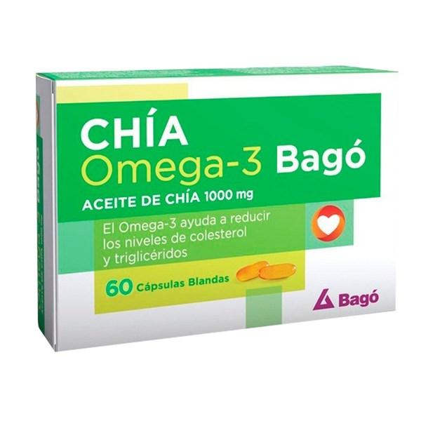 Chía Omega 3 x 60Cps Blandas