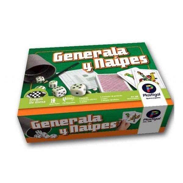 Generala Y Naipes Juego