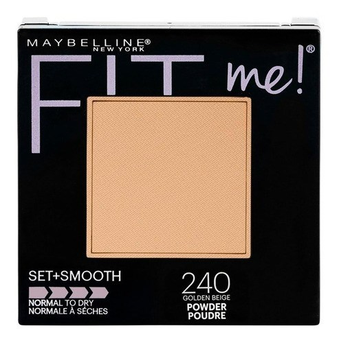Maybelline Polvo Compacto Fit Me Set + Smooth