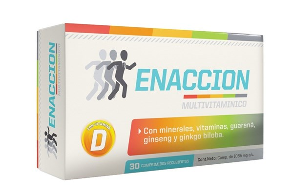 Enaccion Multivitaminico x 30 (2x1)