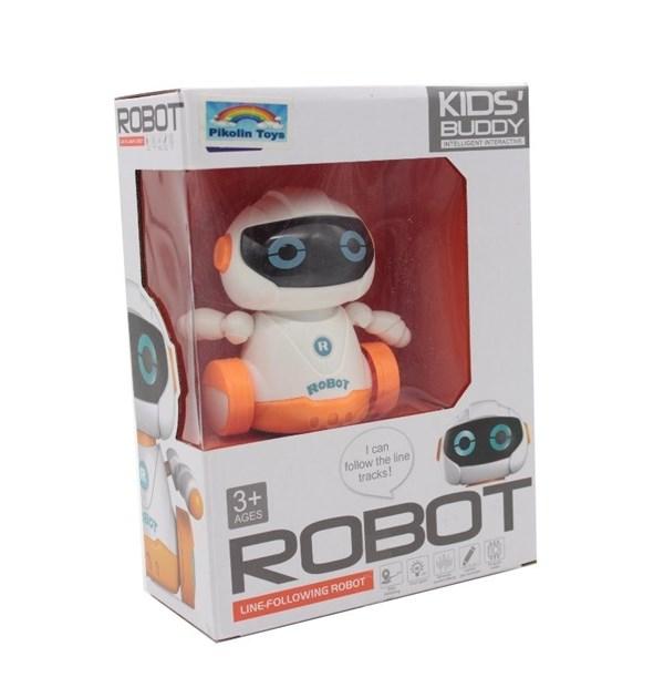 Robot Interactivo Con Sensor Inductivo