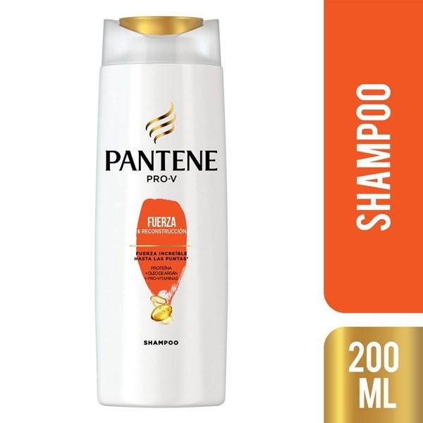 Shampoo Pantene Pro-v Fuerza Y Reconstrucción X 200 Ml