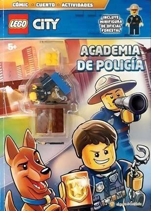 Lego City Libro Academia De Policia