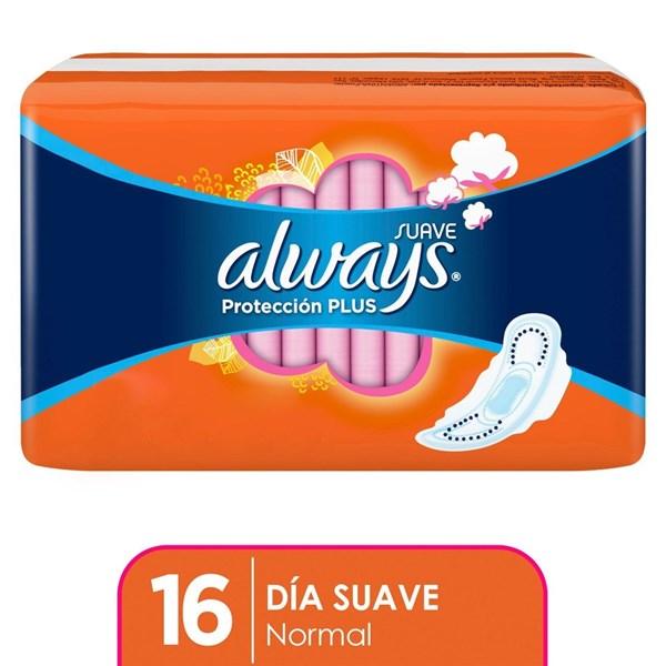 Always Basica Plus con alas x 16