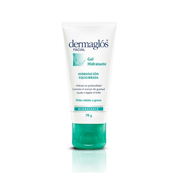 Dermaglos Facial Gel Hidratación Piel Mixta A Grasa X 70 Gr