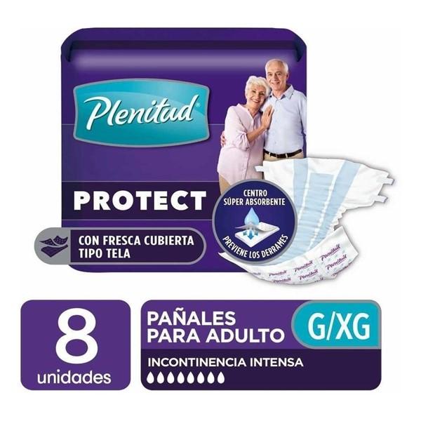 Pañal Adultos Plenitud Protect XG X 8 Unidades