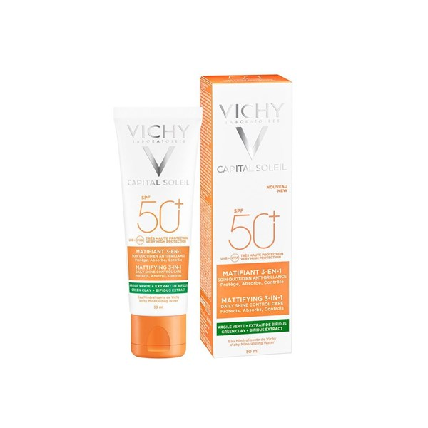 Vichy Matificante 3 EN 1 FPS 50 x 50 ml #1