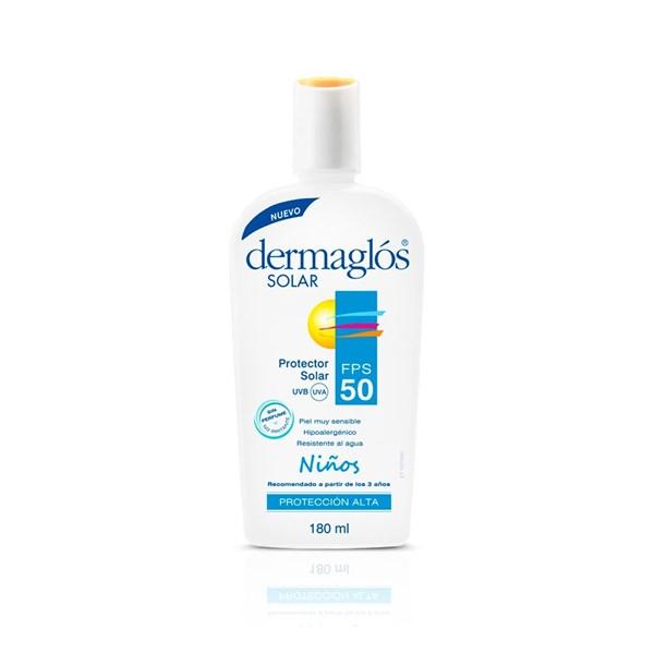 Dermaglos Protector Solar FPS 50 Niño Emulsión X 180 Ml #1