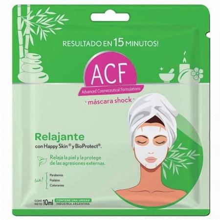 Máscara ACF Shock Relajante 10ml