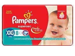 PL PAMPERS SUPERSEC  XXG x 8 U