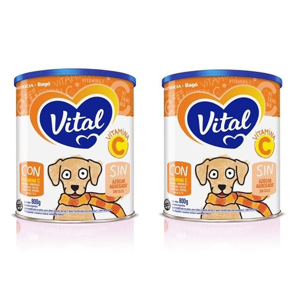 Vital Vitamina C x 800 Gr PROMO 2X1