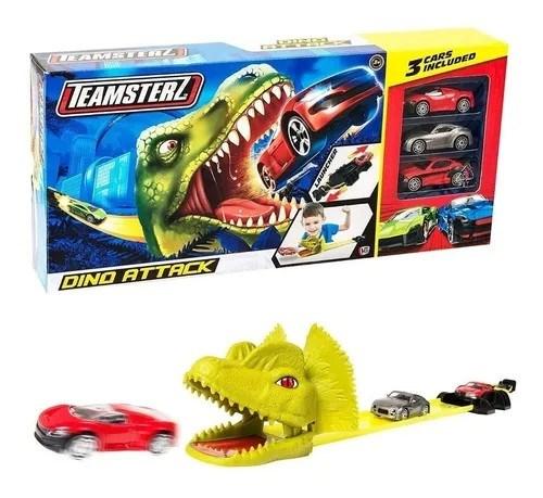 Pista Dino Attack + Autitos #1
