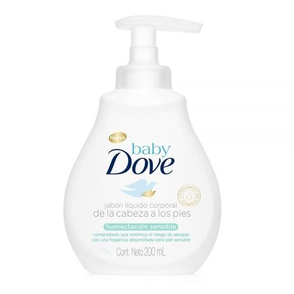 Jabón Liquido Dove Baby Humectación Sensible X 200 Ml