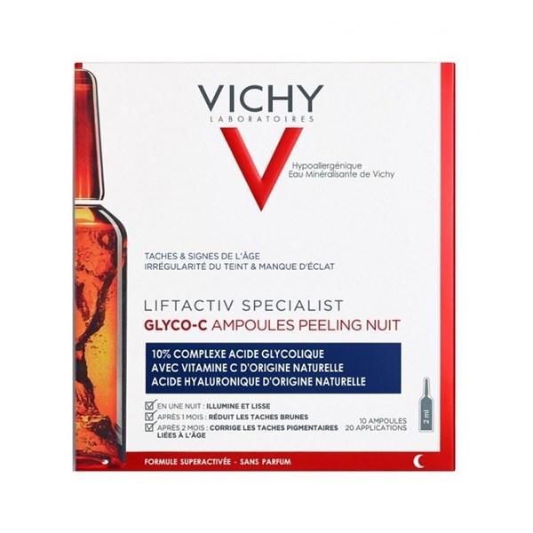 Vichy Liftactiv Ampollas Glyco C Peeling Noche x10