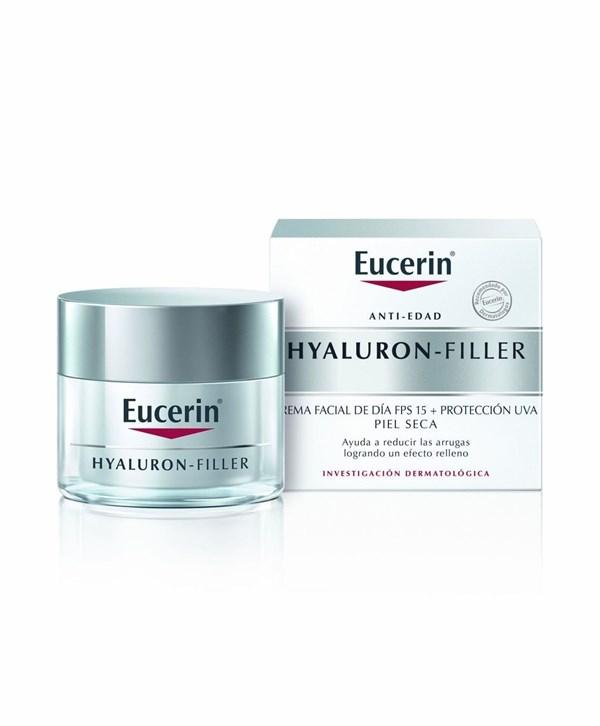 Eucerin Hyaluron-Filler crema facial de día FPS 15 + Protección UVA. Piel Seca #1