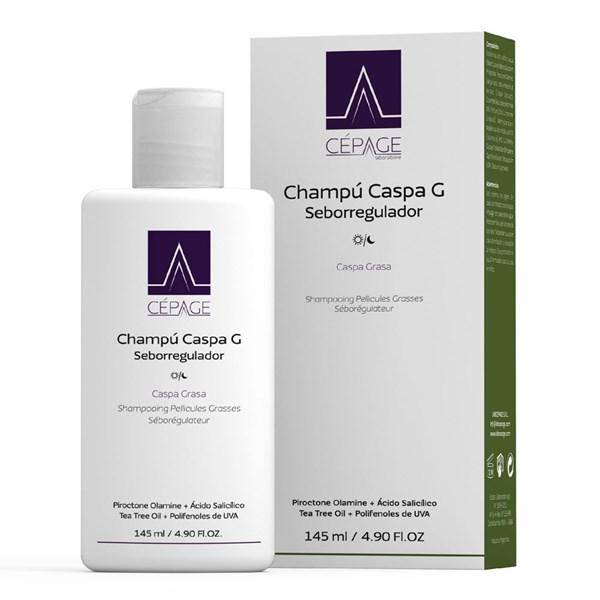 Cepage Shampoo Caspa Grasa Seborregulador x 145 ml.