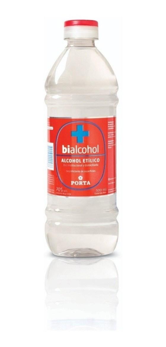 ALCOHOL PORTA 70% x 500 CC