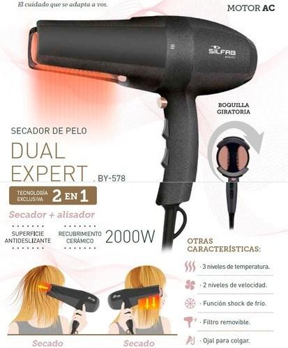 Silfab Beauty Secador de Pelo Dual Expert By-578 alt