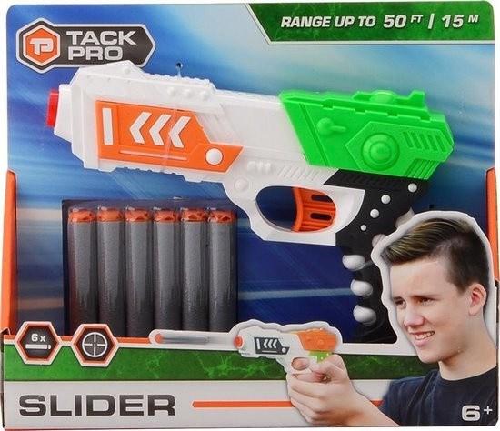 Pistola Lanzadardos Tack Pro