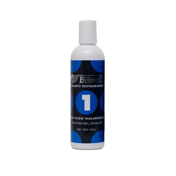 Biferdil Shampoo Restaurador 1 Ácido Hialurónico 295ml