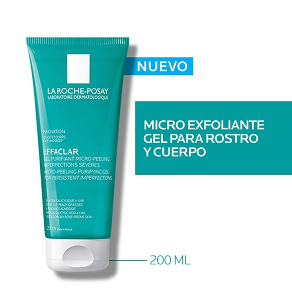 La Roche Posay Effaclar Gel Microexfoliante X 200 Ml alt