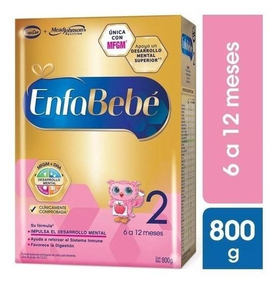EnfaBebe 2 BIB Polvo Libre de Gluten de 6 a 12 meses x 800g