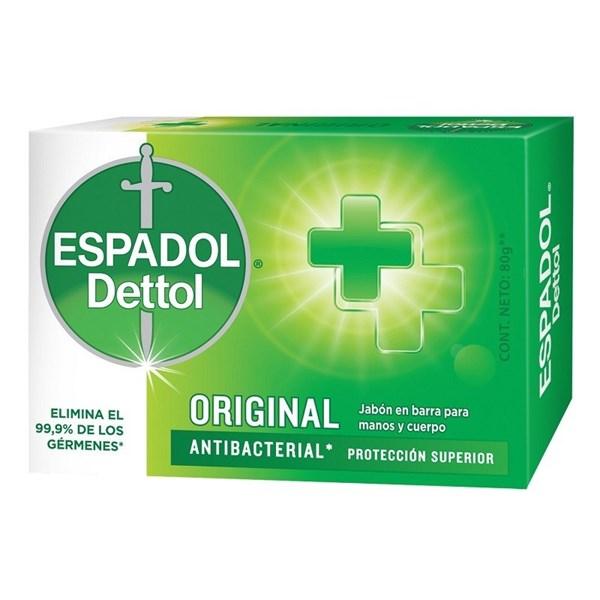 Espadol Dettol Jabón de tocador Original 80gr