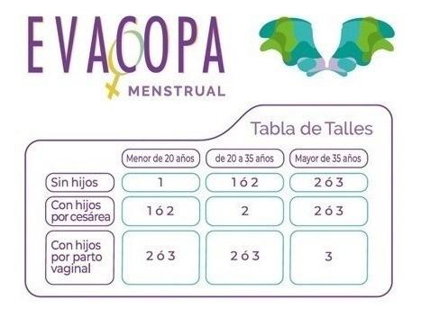 EvaCopa Menstrual Talle 1  alt