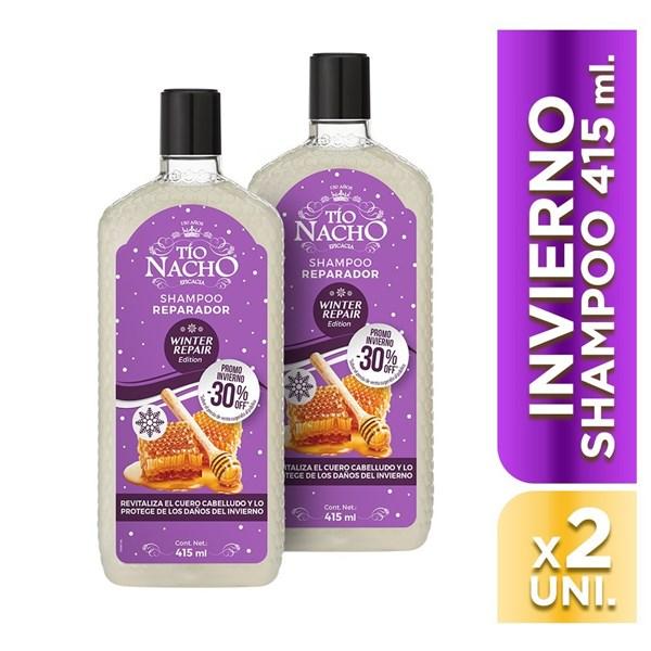 Tio Nacho Shampoo Reparador Jalea Real Invierno 415ml - Promo 2x1