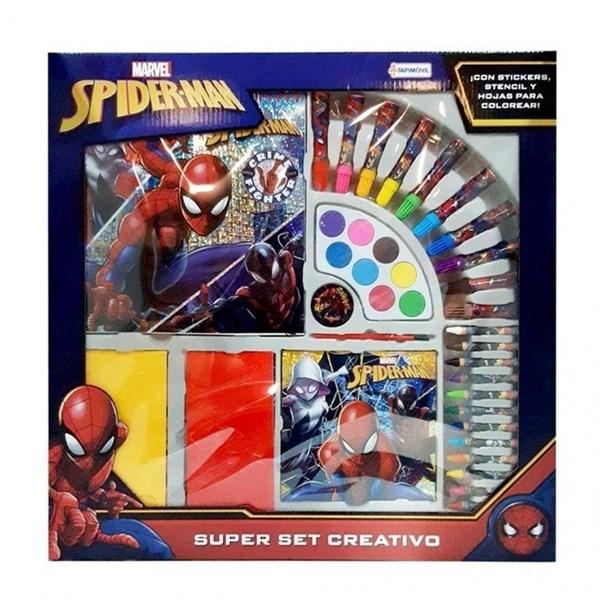 Super Set Creativo Spiderman