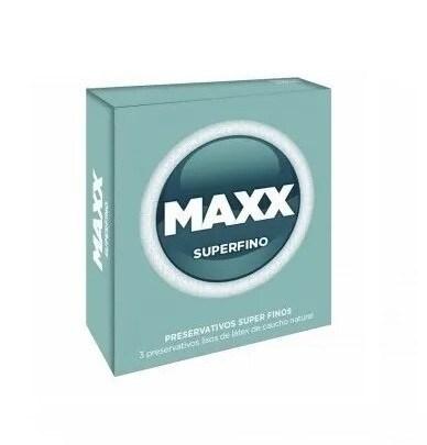 Preservativos Maxx Superfino X3