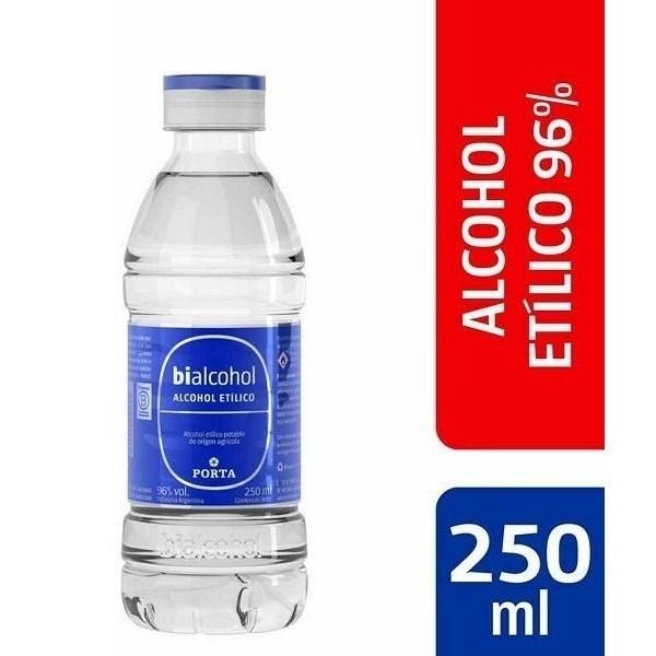 Porta Bialcohol 96% x 250 ml.