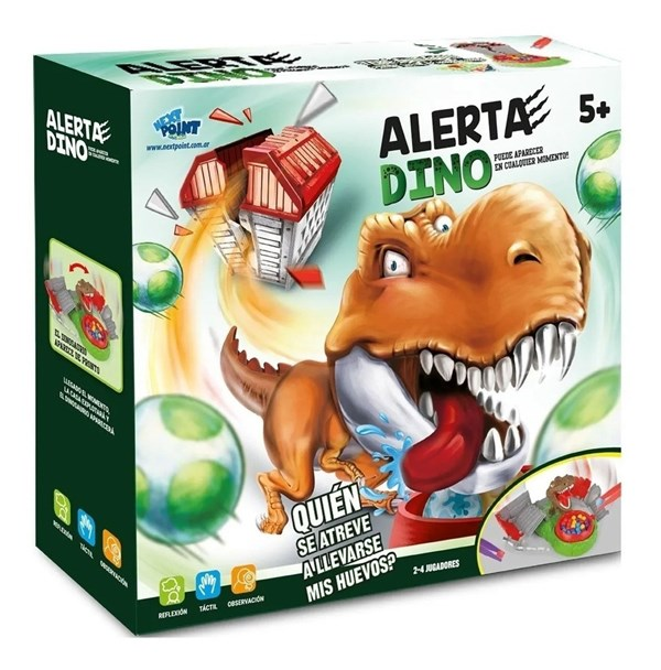 Alerta Dino Juego Next Point