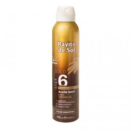 Rayito De Sol Aceite Bronceador SPF 6 195ml
