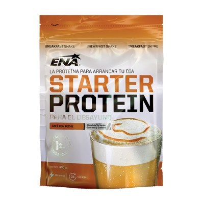 Starter Protein cafe con leche 400gr