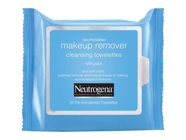 Neutrógena Toallitas Desmaquillantes Make Up Remover x 25 un 50%off 2da Unidad