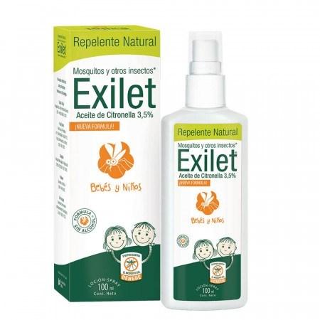 EXILET Repelente ACEITE CITRONELLA Loción x 100 ml