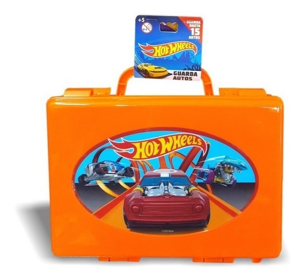 Valija Hot Wheels Porta Autos alt