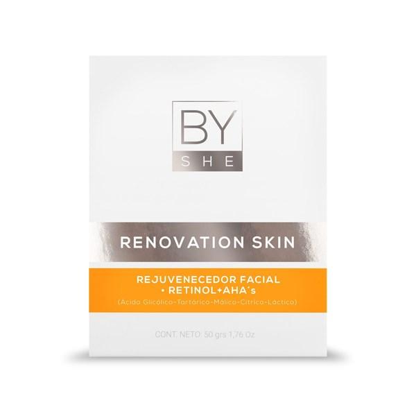 By She Crema Facial de Noche Renovation Skin x50g