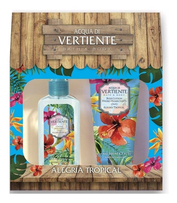 Aqua Di Vertiente Bath & Body Alegria Tropical