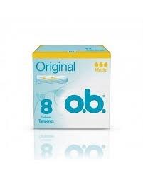 O.b Tampones Medio Original x8u